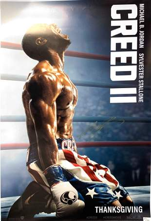 Signed Creed 2 Poster