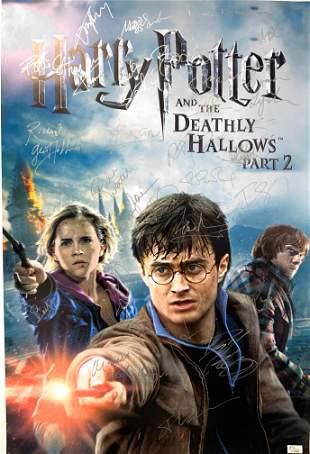 Signed Harry Potter and The Deathly Hallow Part 2