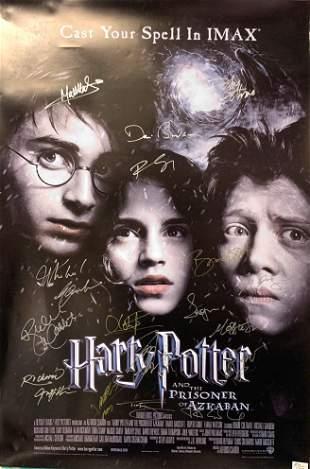 Signed Harry Potter and The Prisoner of Azkaban Poster