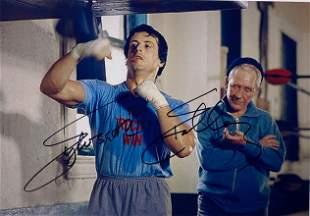 Signed Rocky Photo