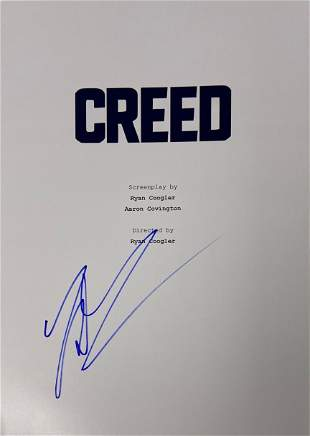Signed Creed Script Cover