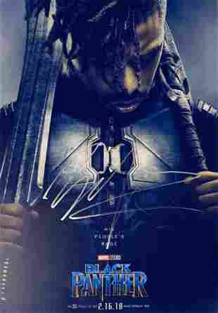 Signed Black Panther Photo