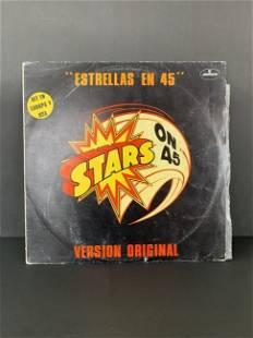 """vintage vinyl record """"Stars at 45"""""""