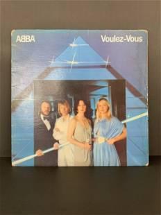 Vintage Vinyl record group ABBA