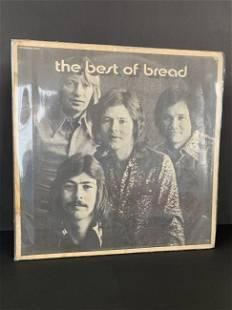 "Antique vinyl record ""The best of bread"""