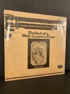 "Antique vinyl record ""Ballad of a Well-Known Gun"""