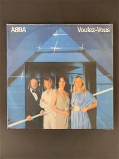 Vintage vinyl record ABBA - VOULEZ-VOUS