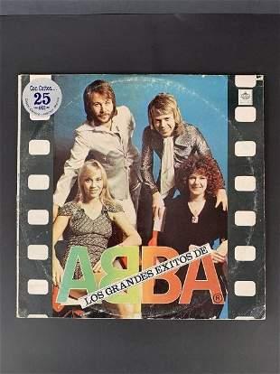 Vintage vinyl record ABBA - greatest hits