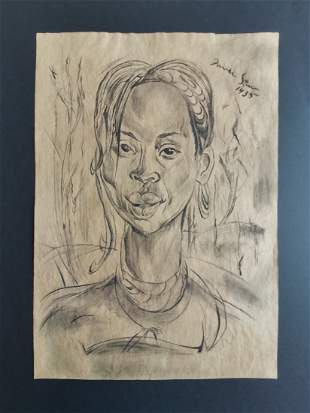 Irma Stern (after) Portrait of an African Woman