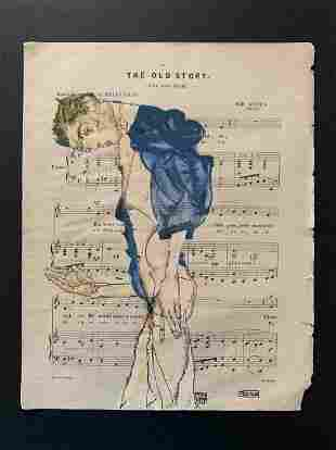 Egon Schiele (After) Preacher - 1913
