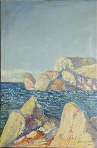 Birger Sandzén (After) Napoli