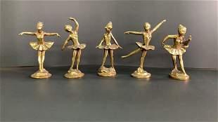 Ballet dancers (in the style of) Edgar Degas
