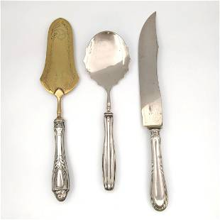 Sweet set .800 silver - Italy - Late 20th century