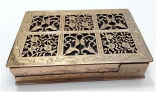 French Mirror Powder Compact box
