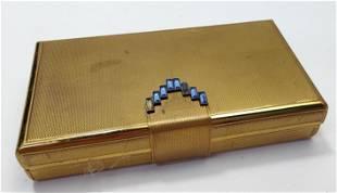 French Art Deco Powder Compact box
