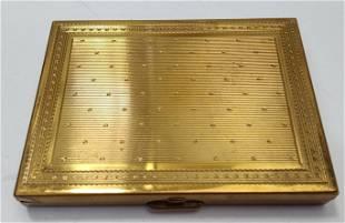 French Art Deco Marquis Paris Powder Compact box