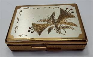 French Diamor Paris Cigarette case & Compact box