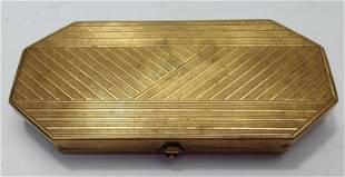 French Art Deco Powder Compact box Houbigant France