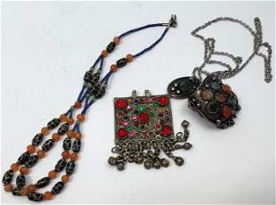 lot of Tribal Oriental Costume Jewelry