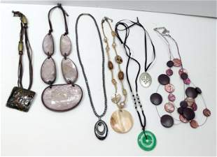 lot of costume jewelry Necklace