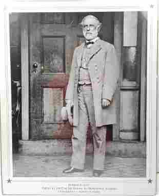 Robert E. Lee poster photograph