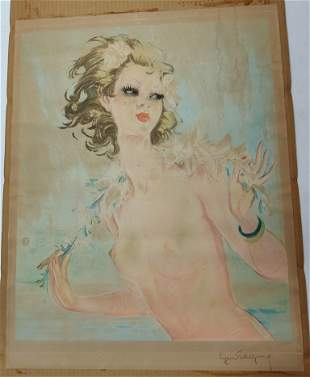 Manner of Jean-Gabriel Domergue (French, 1889-1962),