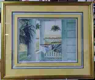 Print Barbara Shipman (American c. 1944 - 2019) Florida