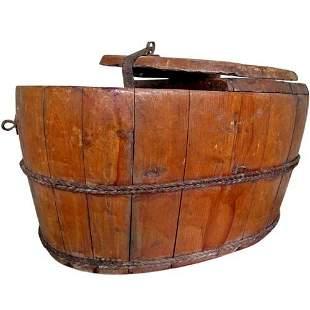 Primitive Sugar Storage Bucket with Lid