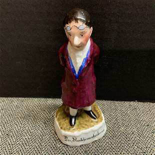 Staffordshire Bottle Head Stopper with Swab