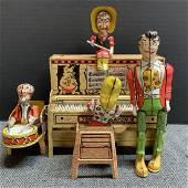 Lil Abner and his Dogpatch Band Wind-Up Toy 1945