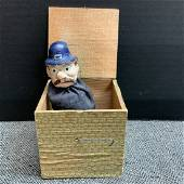 Vintage English Bobby Jack In The Box Toy