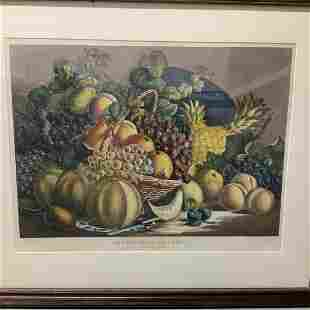 CURRIER & IVES - American Price Fruit