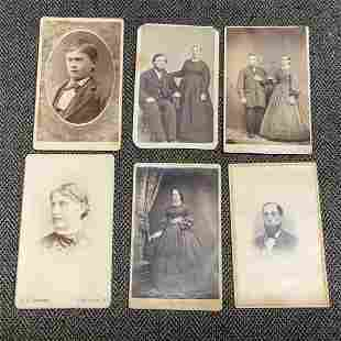 Huge 26 Lot of Antique Photographs And Photo Album