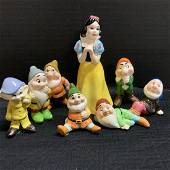 Walt Disney Snow White And The 7 Dwarfs Set Japan