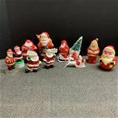 Vintage Santa Claus Figurine  Lot