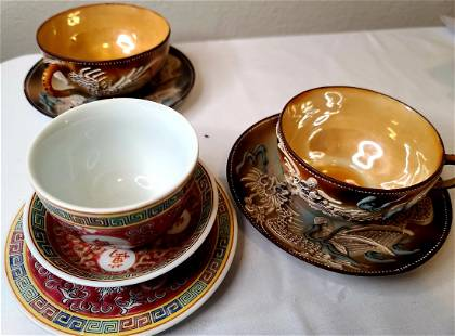 Chinese teacup and saucer