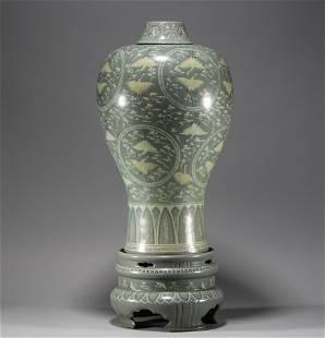 Song Dynasty, Korean porcelain plum vase