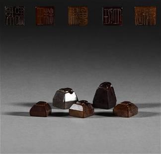 Han Dynasty, Hetian jade seal group