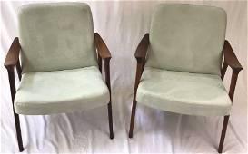 Rare MCM Lounge Chair Pair
