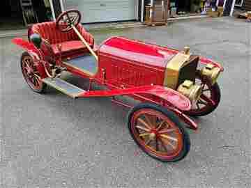 Custom Motorized Scale Clement Bayard Child's Car- RUNS