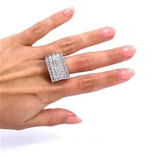Platinum & Diamonds Chevalier Retro Ring