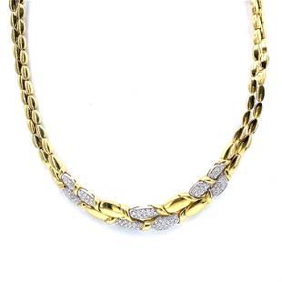 LEO PIZZO Diamonds & 18k gold Necklace