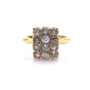 Antique Diamonds & 18k Gold Ring