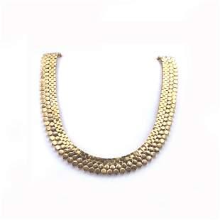 Retro 18k Gold necklace