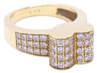 VAN CLEEF & ARPELS Diamonds 18k Heart Ring