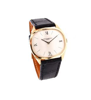 Vintage 18k gold Patek Philippe mens Watch