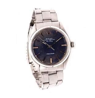 Rolex 5500 Air-King blue dial
