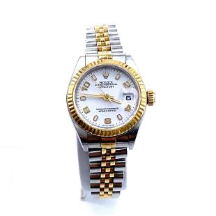 ROLEX Oyster Perpetual Datejust Ref. 79173. 18k &