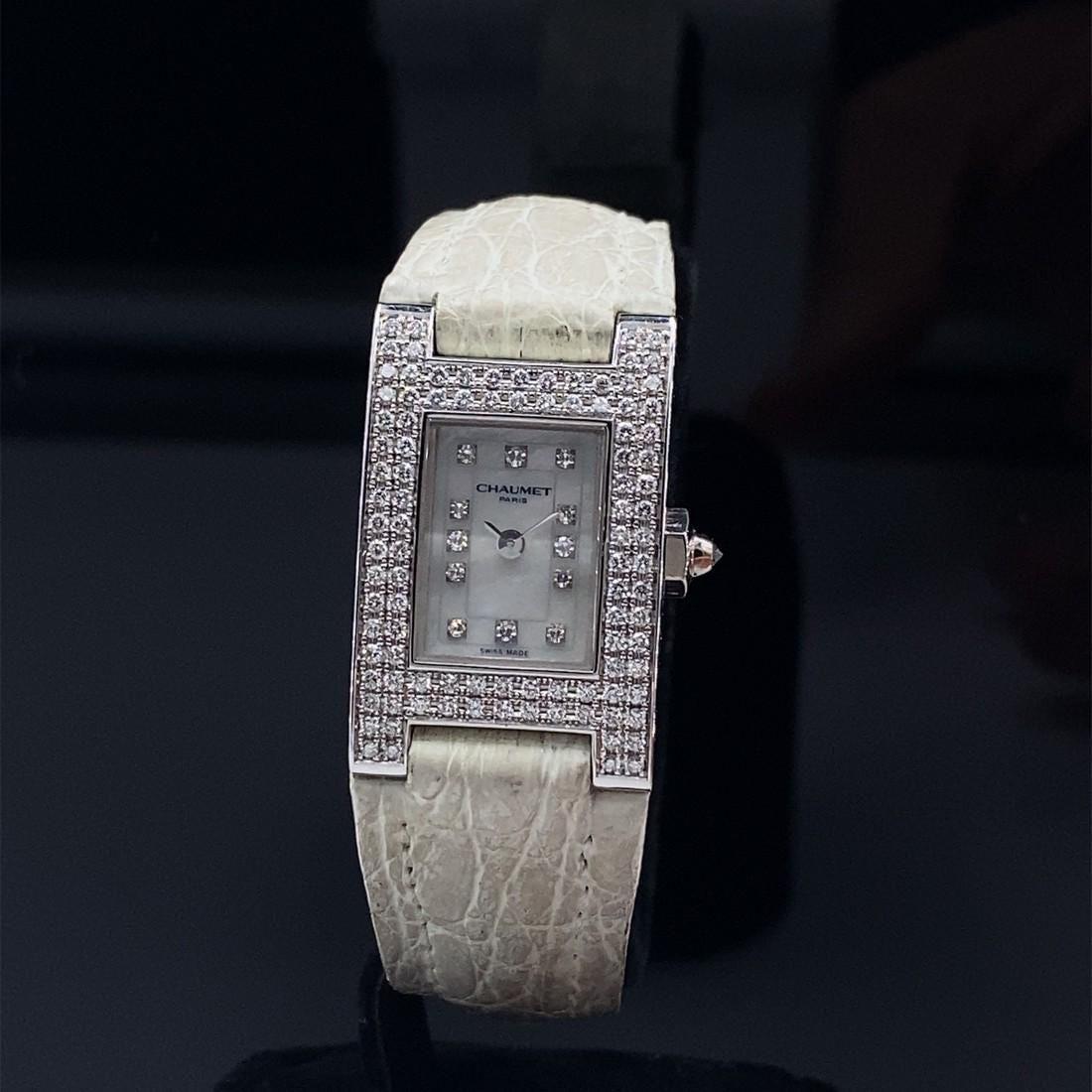 Chaumet Paris 18k Diamonds Quartz Watch