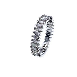 Marquise Diamonds Platinum Eternity Ring